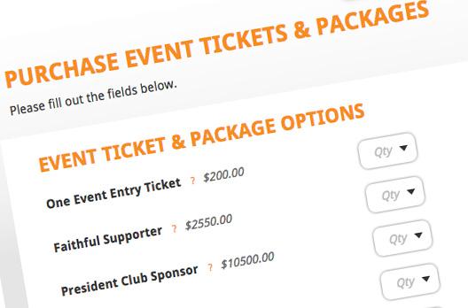 Fundraising Event Management